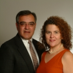 Anna Spathis and Dennis Stavropoulos